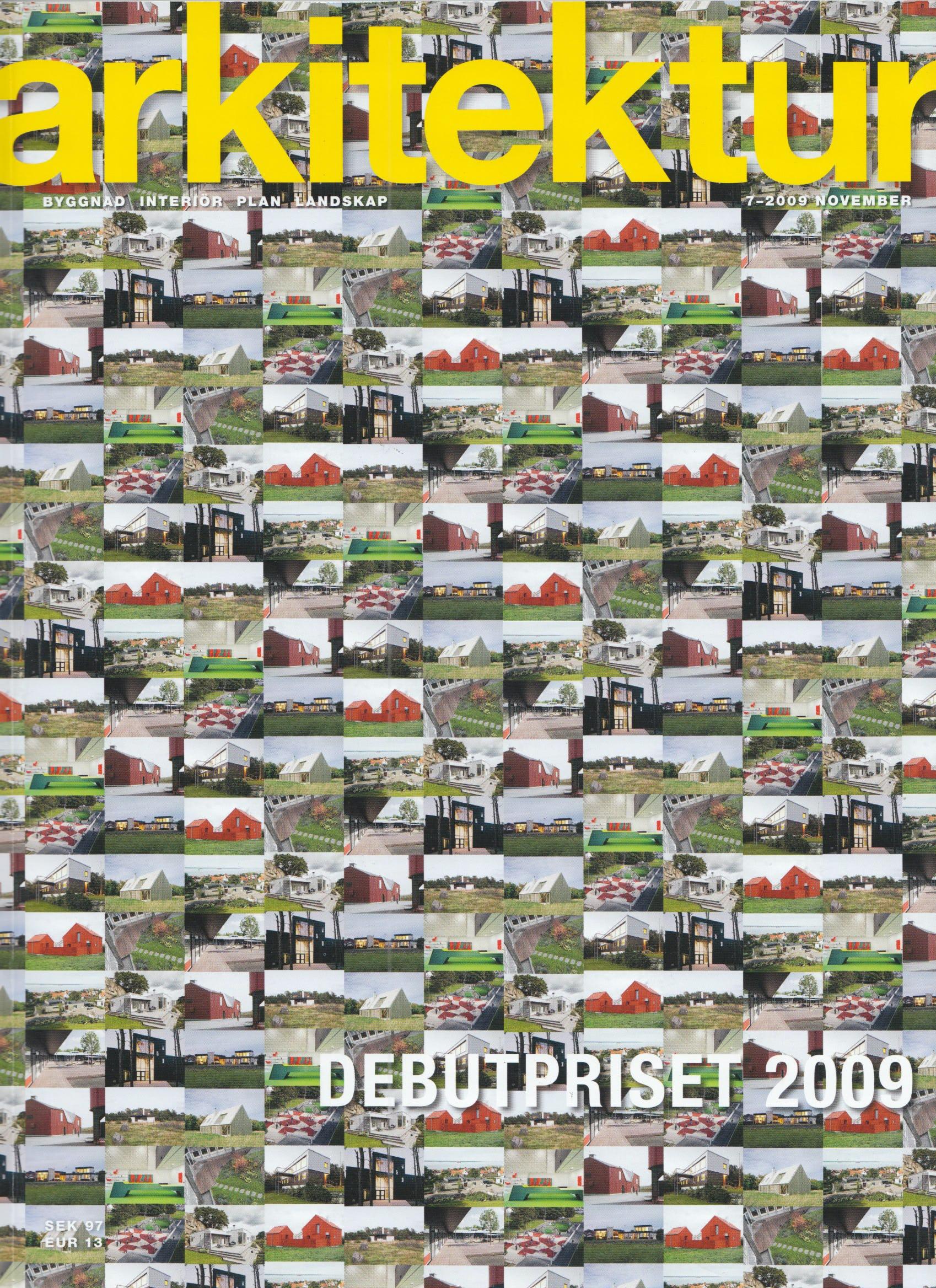 Dive arkitektur 2009