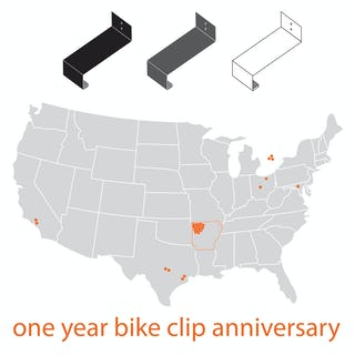 Bike clip sales locations no lines