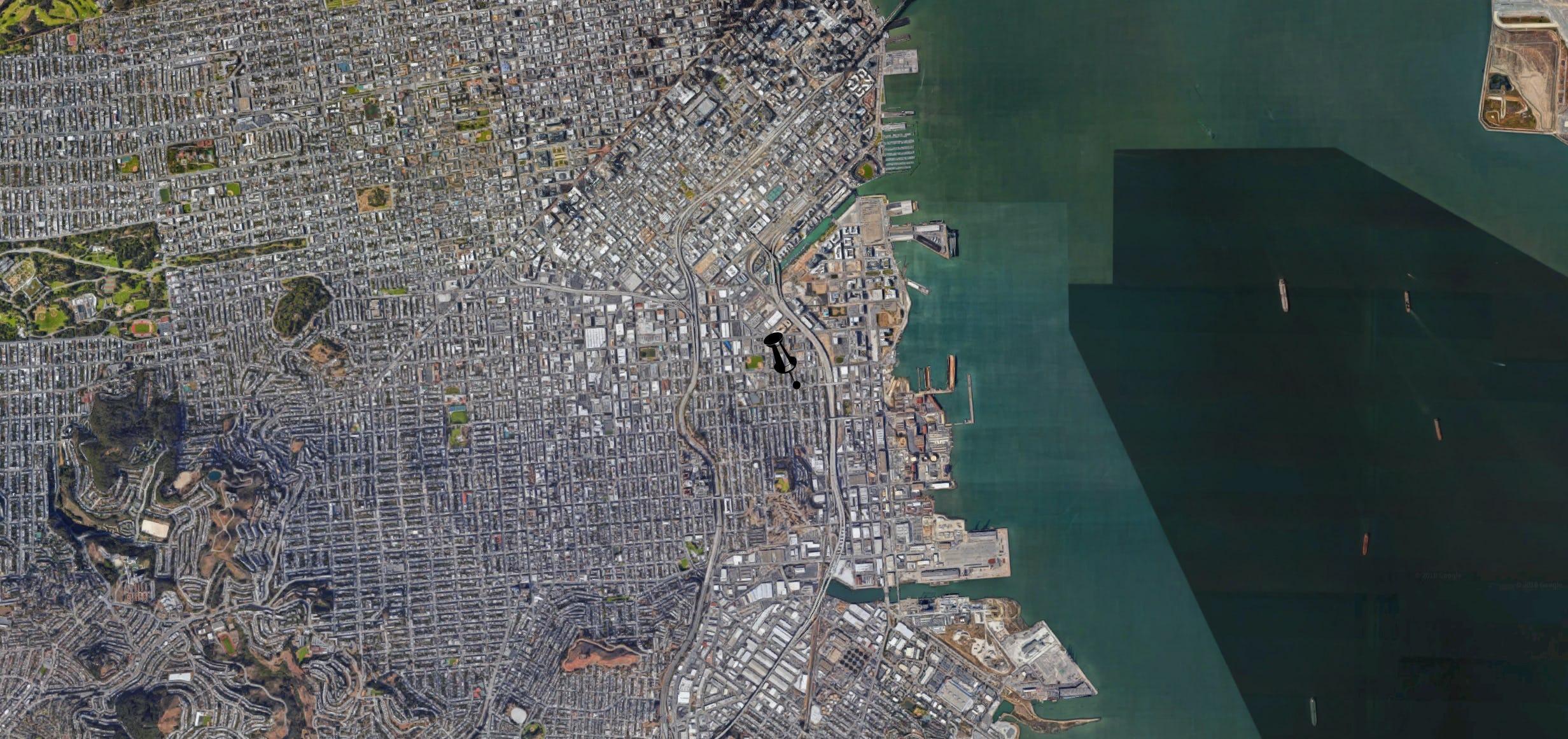 Studio karliova location google maps satellite pin