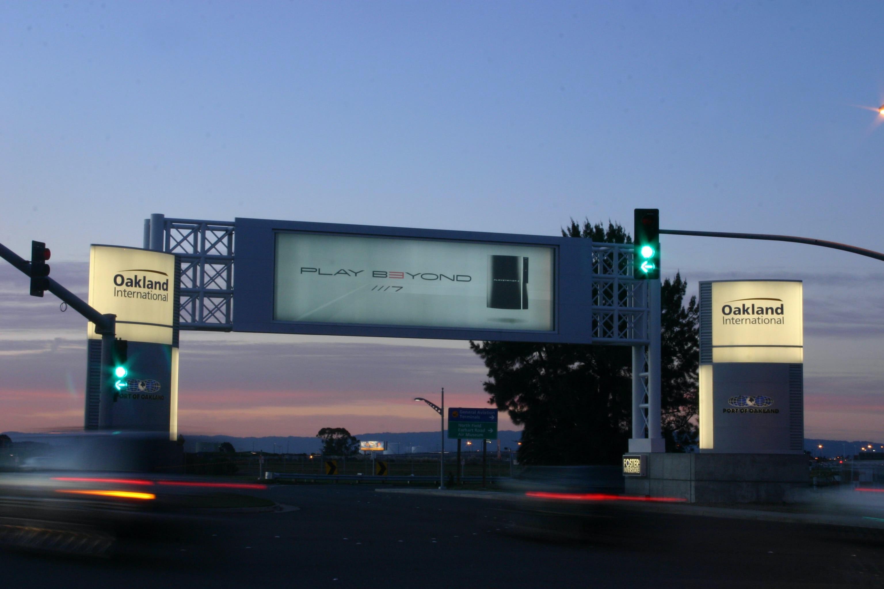 Oakland airport 2 print