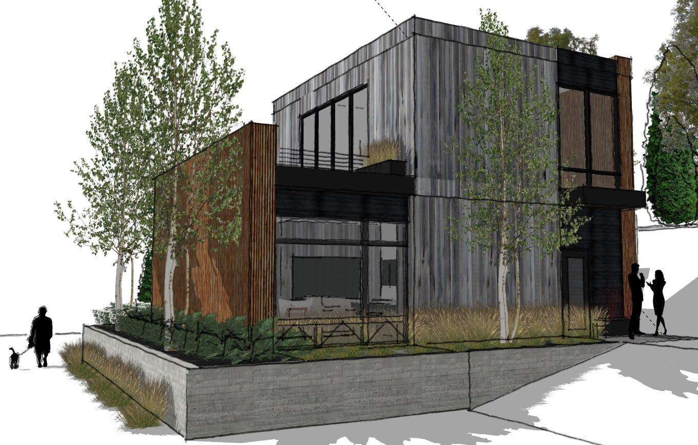 Modern cabin northern michigan architecture