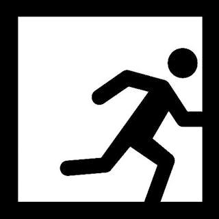 Exit reality bw logo