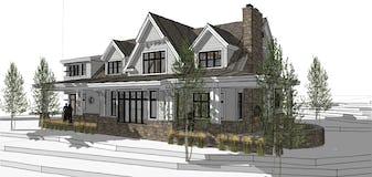 North45 architecture northern michigan cottage designer