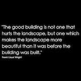 Frank lloyd wright quote minimalism simple honest architecture design