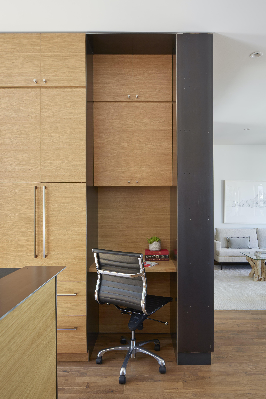 Builtform construction  steelhouse1 2 desk modern wood
