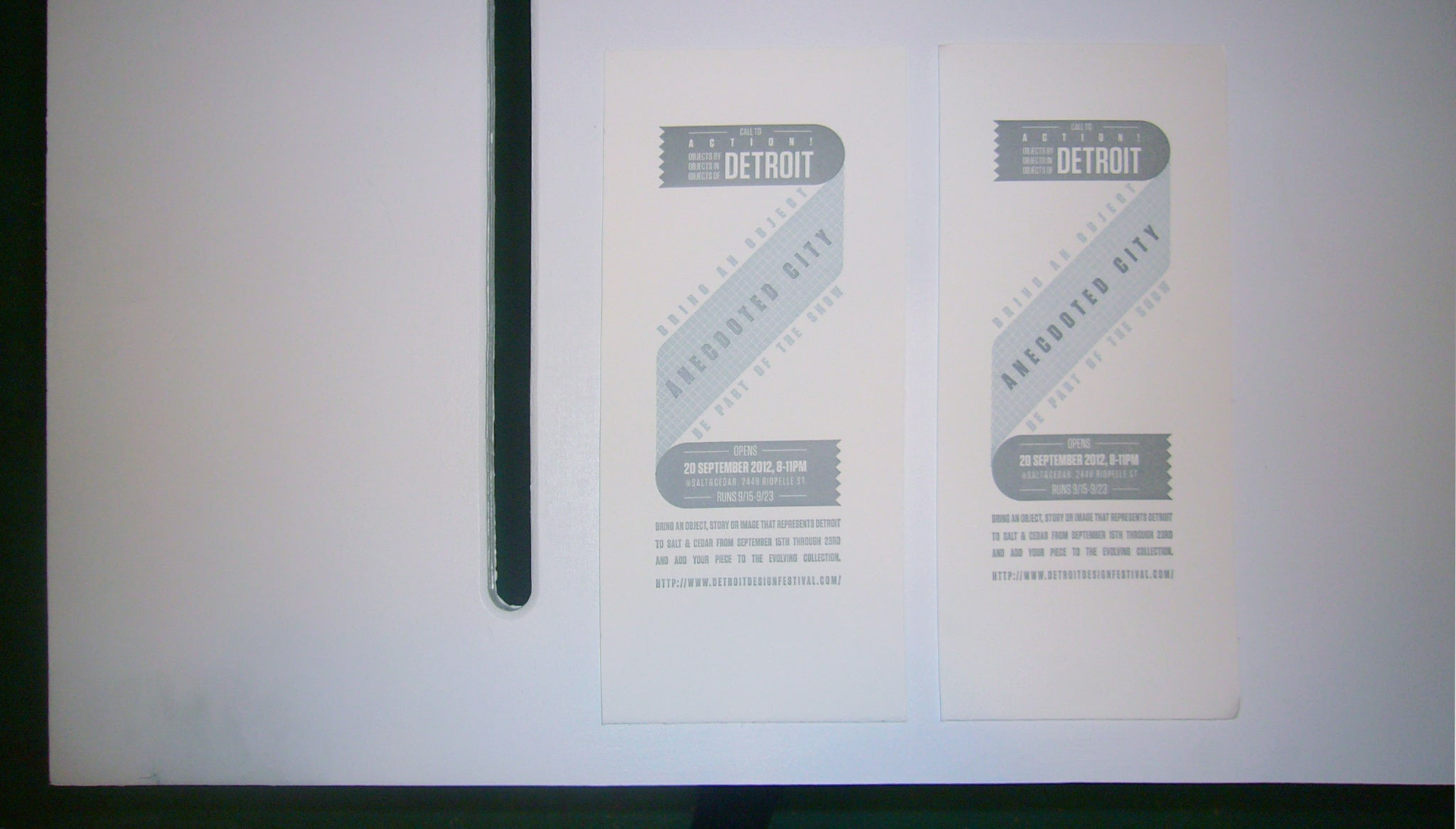 Table flyers o