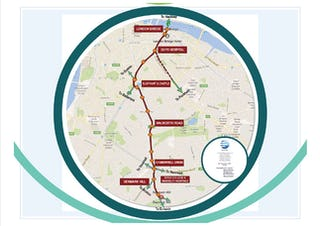 Southwark tram proposed route