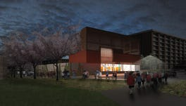 12 35 leroy pond drb sd rendering looking north night