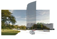 Oakbrook street view curve level architecture incorporated
