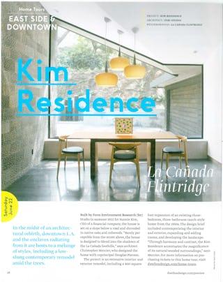 Fer dwell on design kim tour article