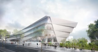 Kengo kuma   associates museum of the human body montpellier 7 full