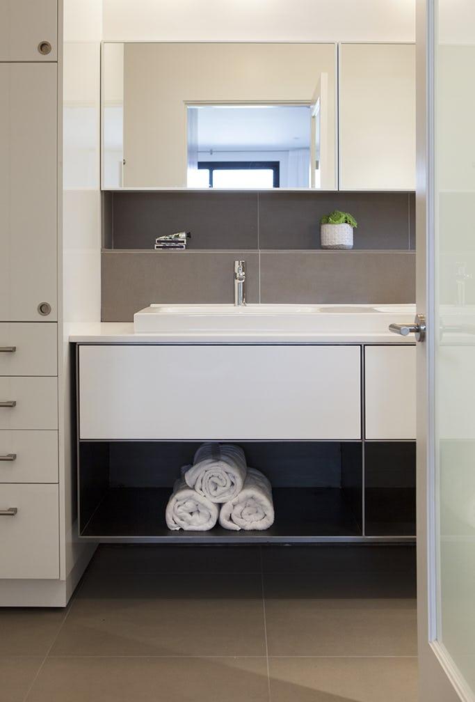 Builtform construction  steelhouse1 2 bathroom sink mirror modern