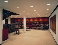 Beinecke reference lobby