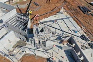 08 modus studio england elementary construction aerial