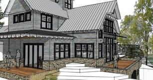 Modern  farmhouse harbor springs