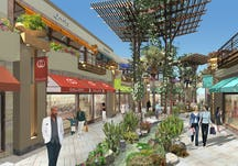 Paseo shopping mall perspective revised