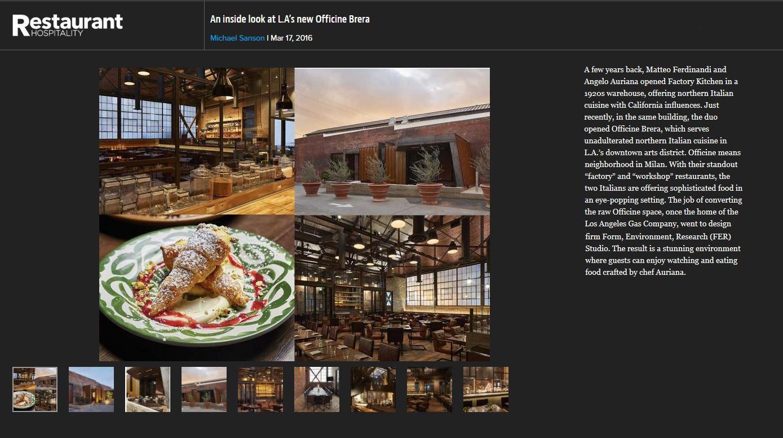 160317 restaurant hospitality brera