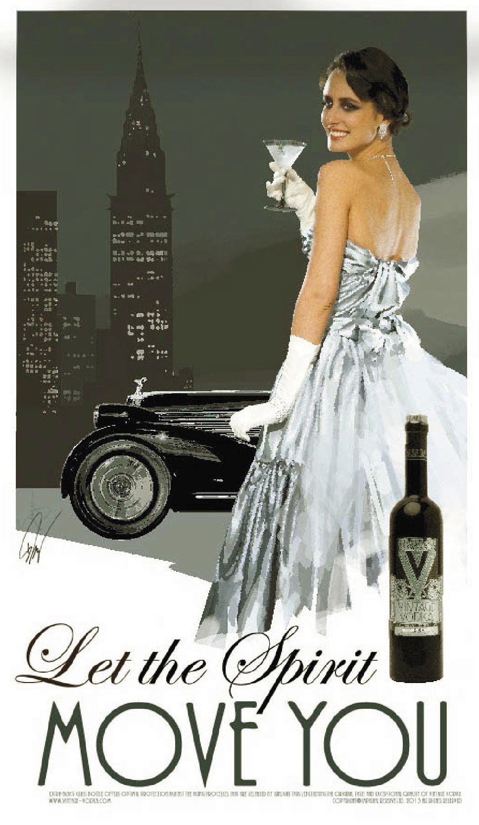 Vintage vodka 002