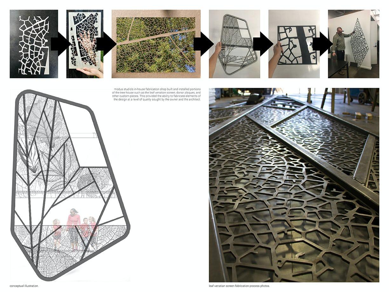 Modus studio garvan tree house modus shop fabrication