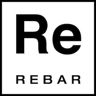 Rebar logo black