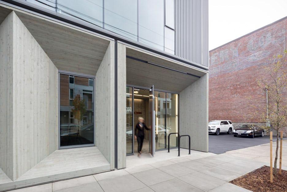 Framework worksarchitecture portland oregon usa cross laminated timber office building dezeen 936 9