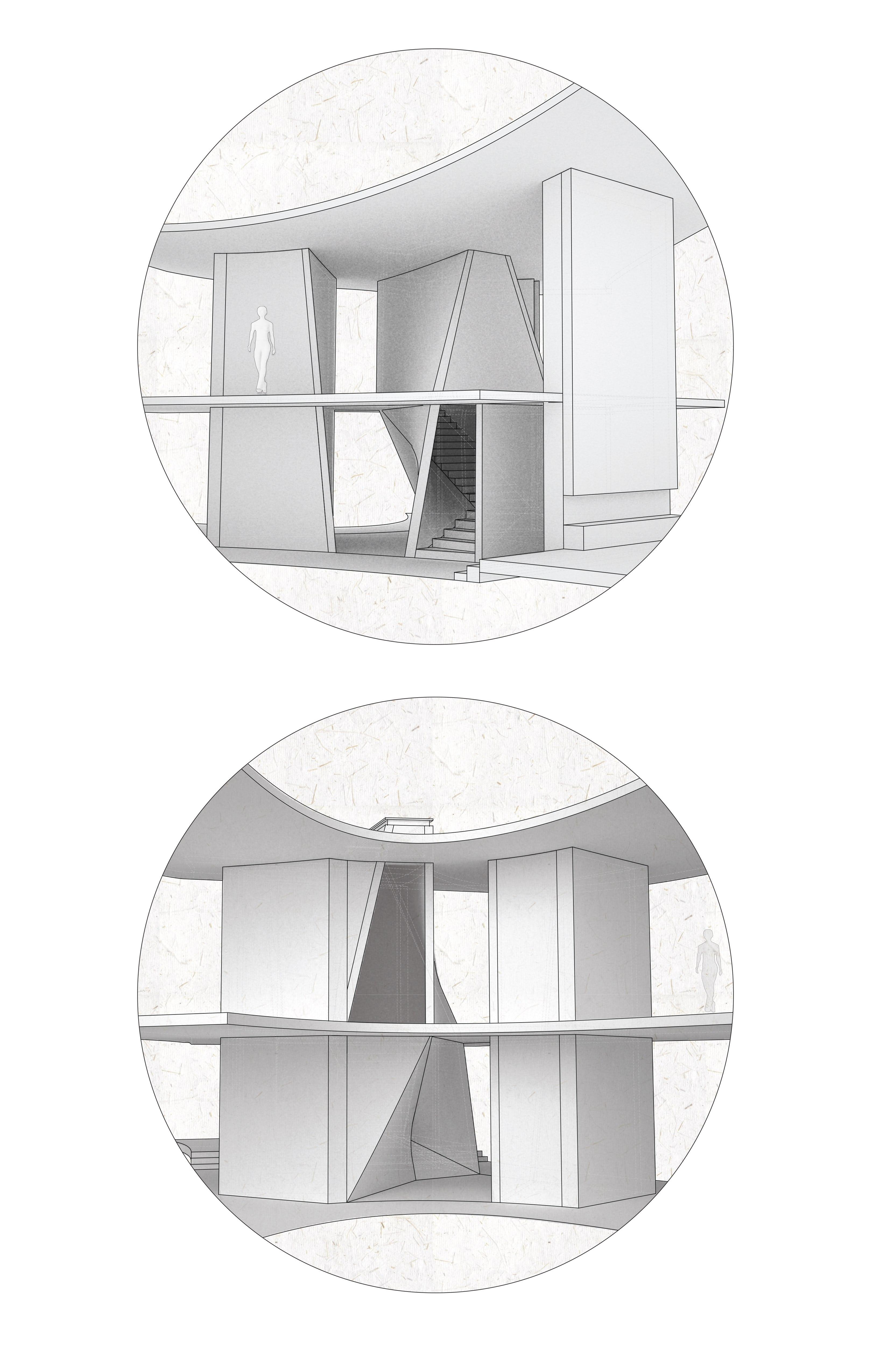 Courtyard house isoideas diagram 3