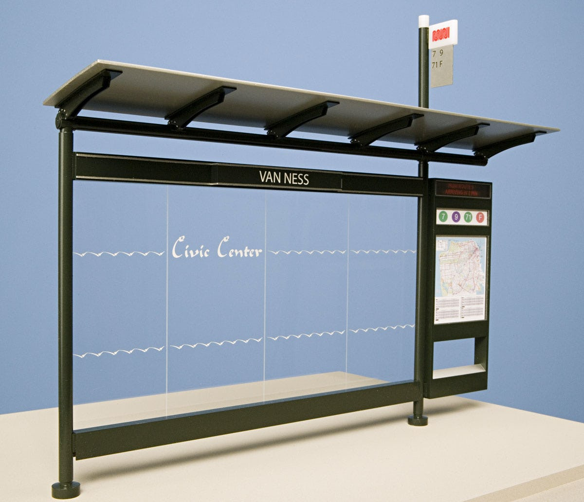 Cbs bus shelters 612
