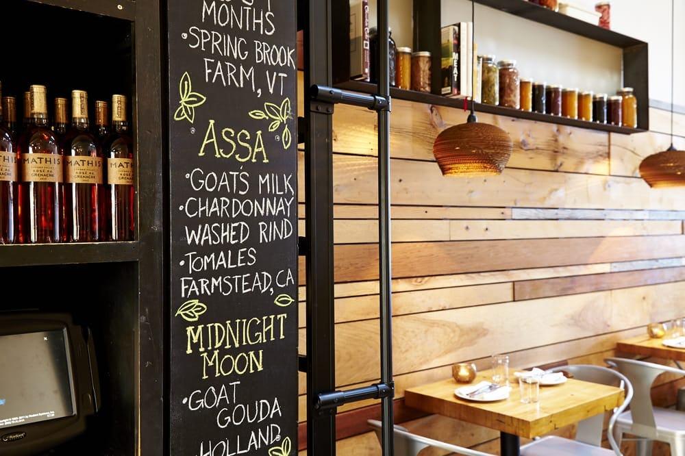Satrbelly restaurant builtform construction san francisco modern salvaged wood menu board