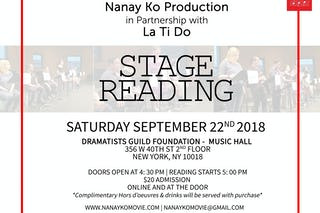 Stagereadingnewyork