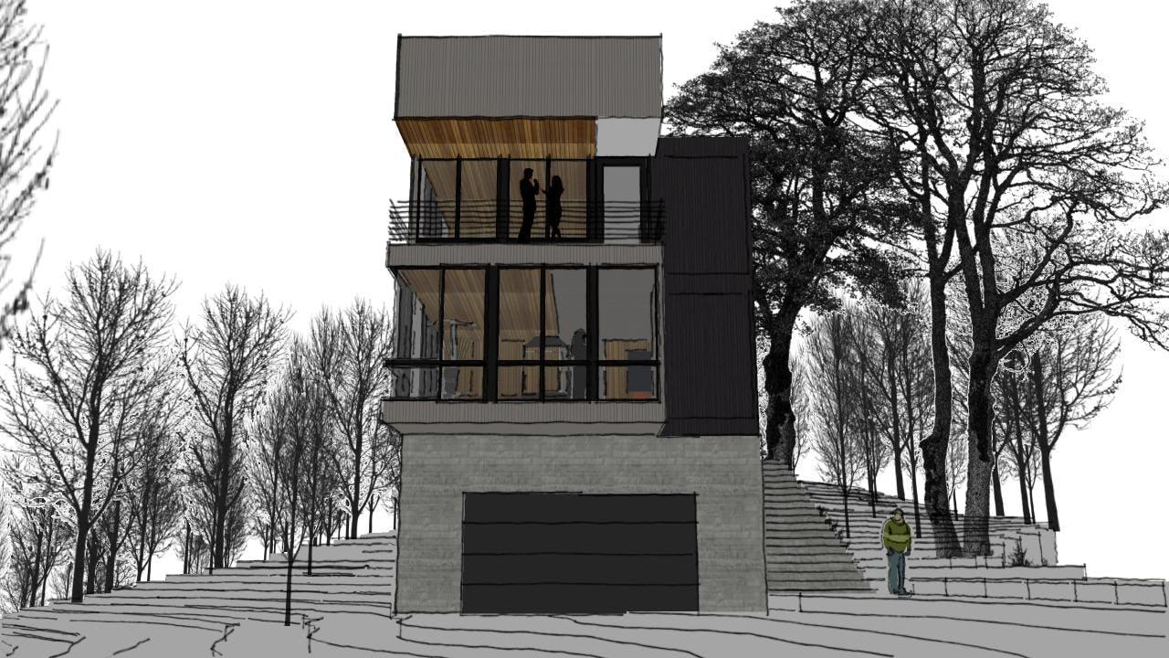 Modern architect walloon lake