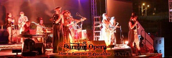 Burning opera3