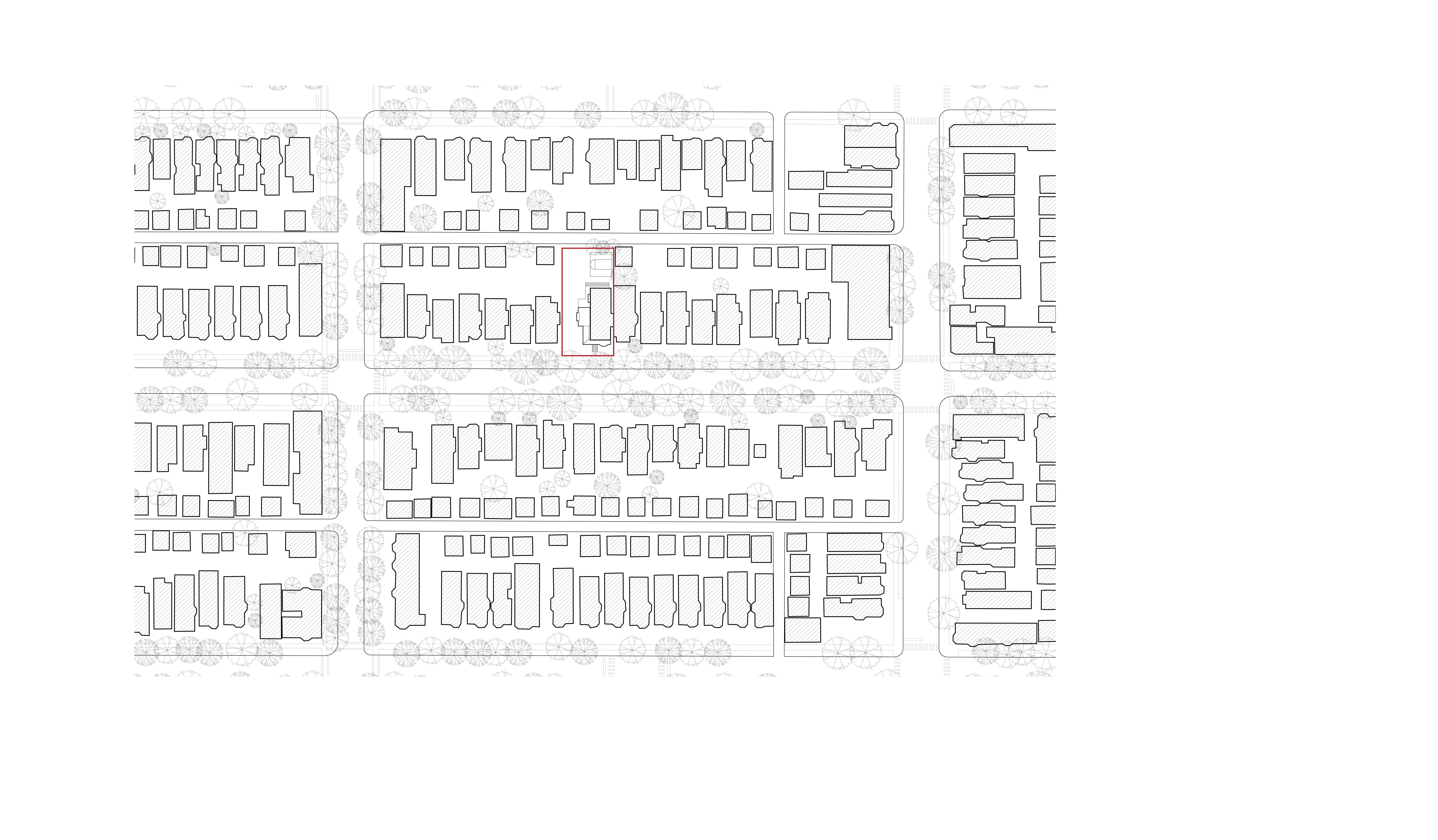 Site plan 2032 w bradley pl
