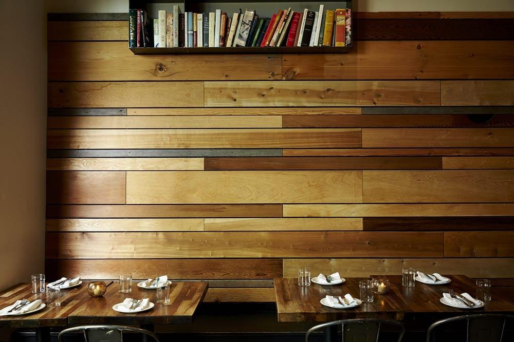 Satrbelly builtform construction san francisco modern salvaged wood wall