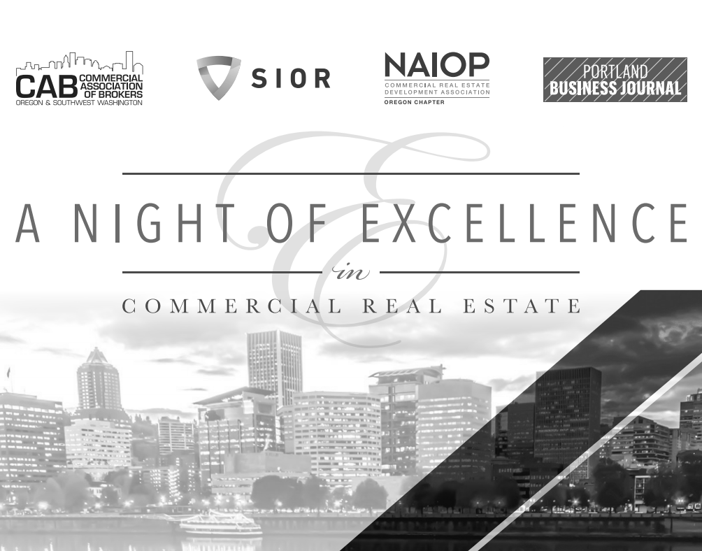 Excellence in commercial real estate award