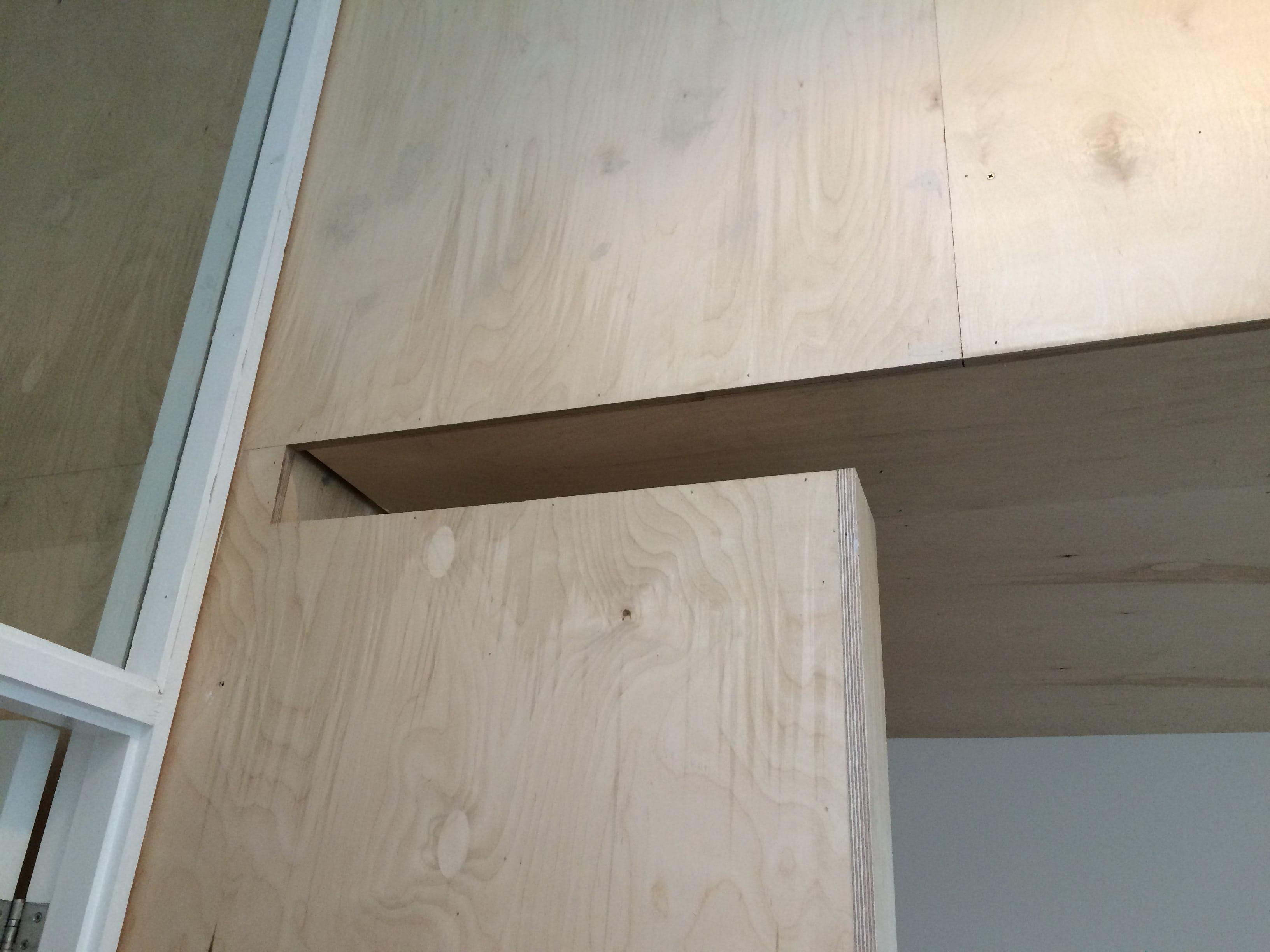 Ply slot detail