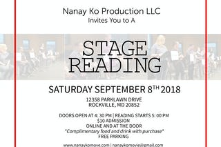 Stagereadingsept8