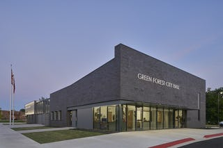 Modus studio green forest city hall police department 0318