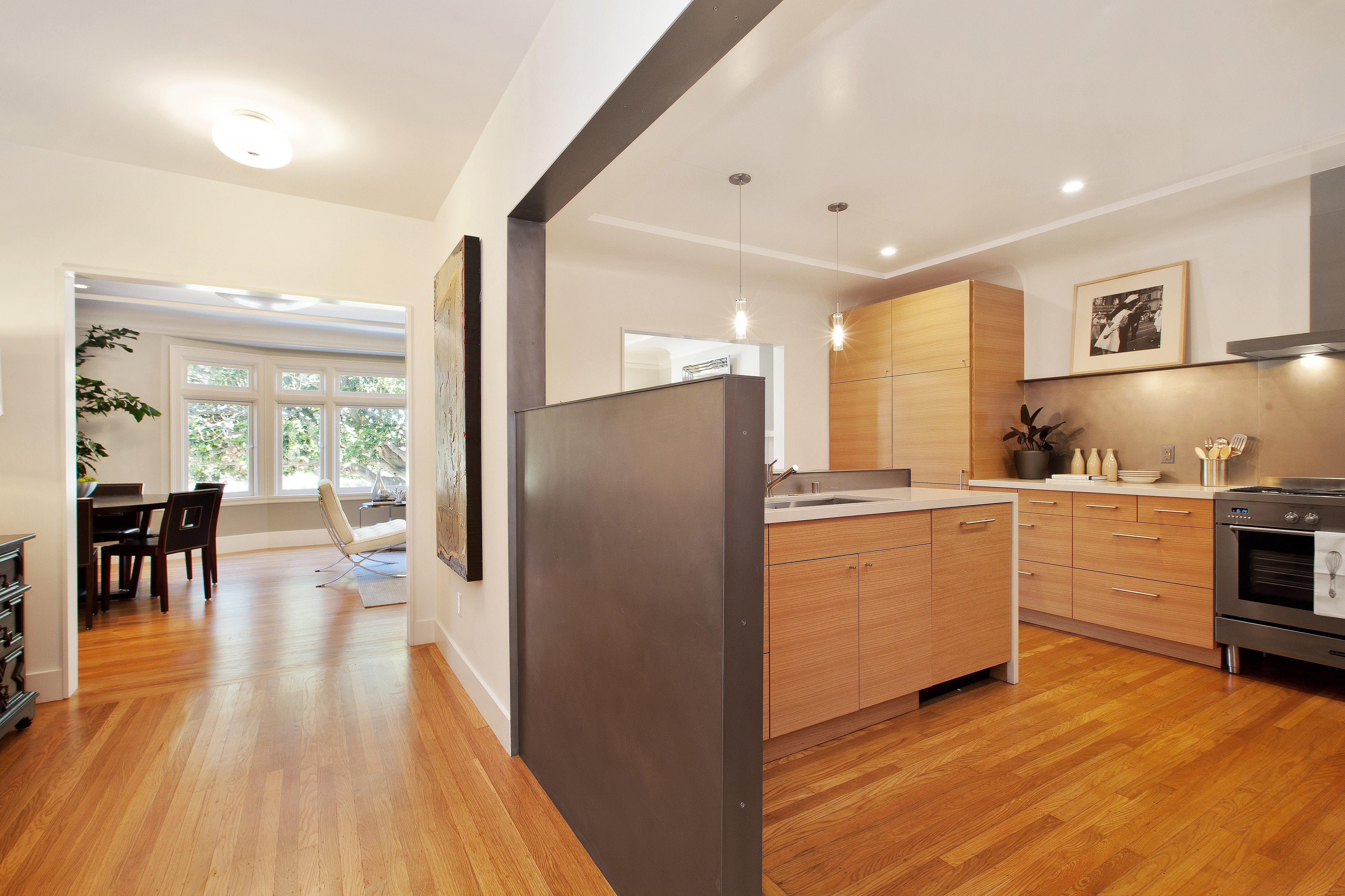 Builtform construction 20th st kitchen wood modern