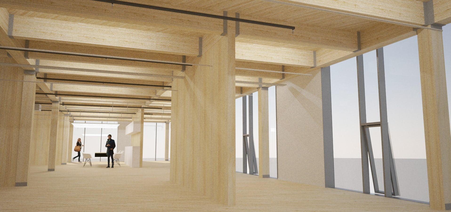 Framework interior rendering