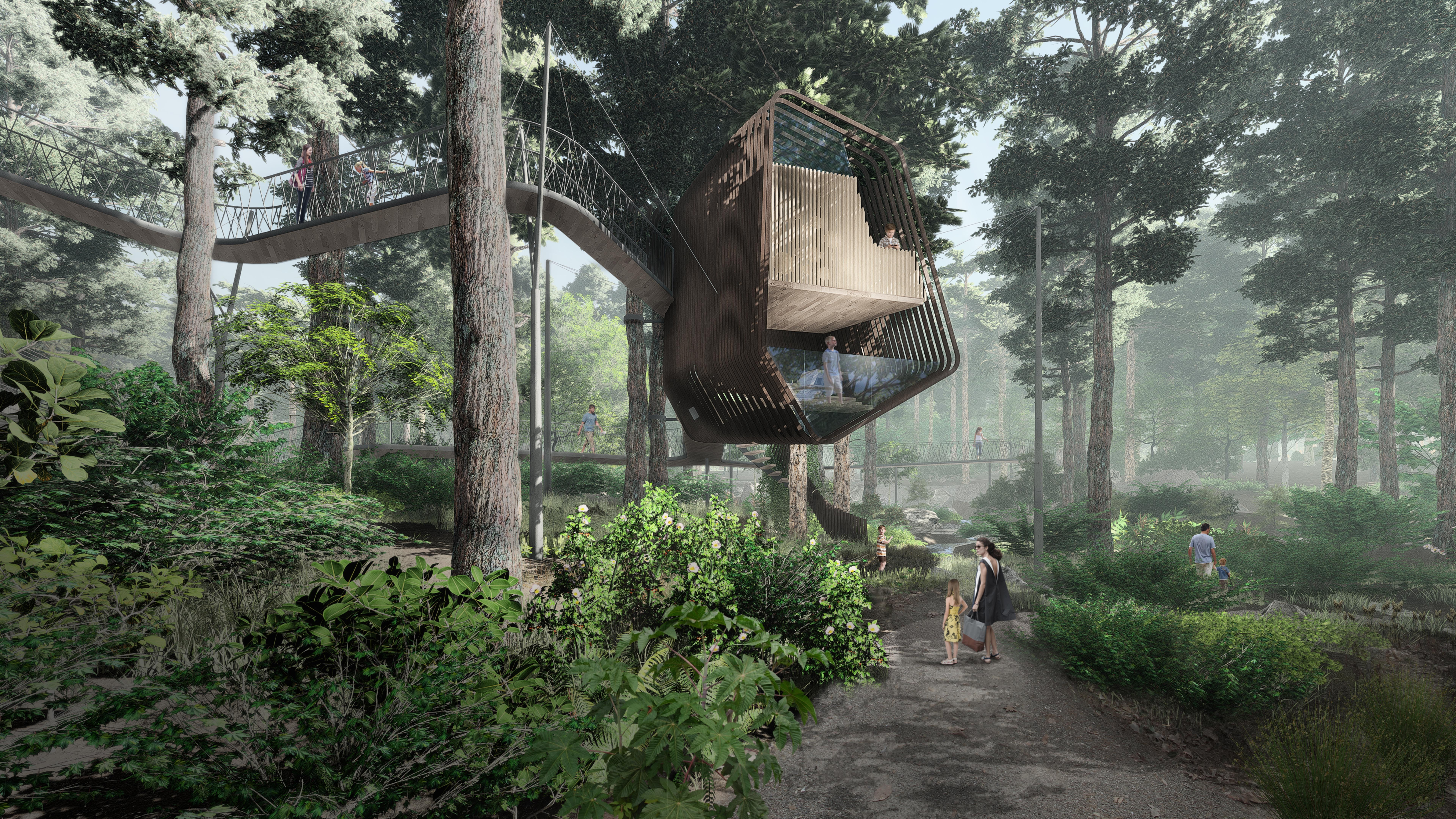 Treehouse exterior rendering 02 low res