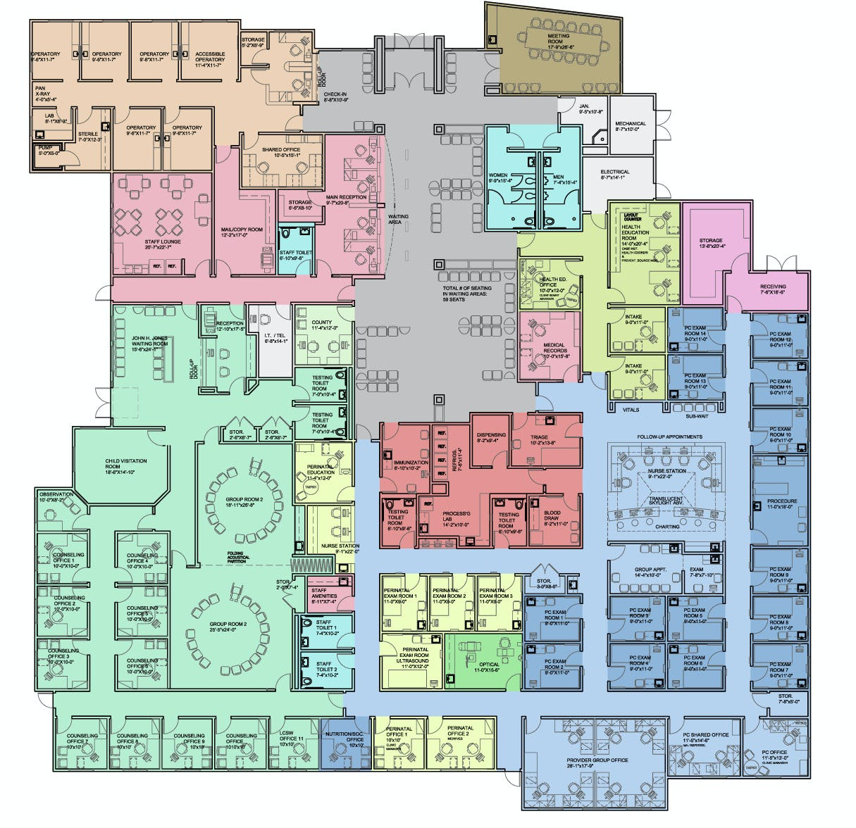 Communicare floorplan