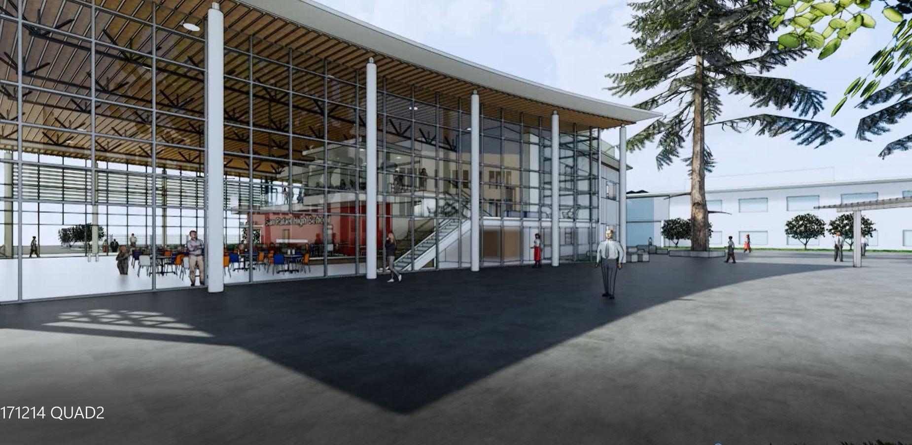 Image 2 srhs quad to building
