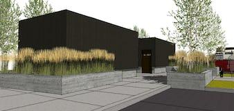 Northern michigan modern architecture campground emmet county