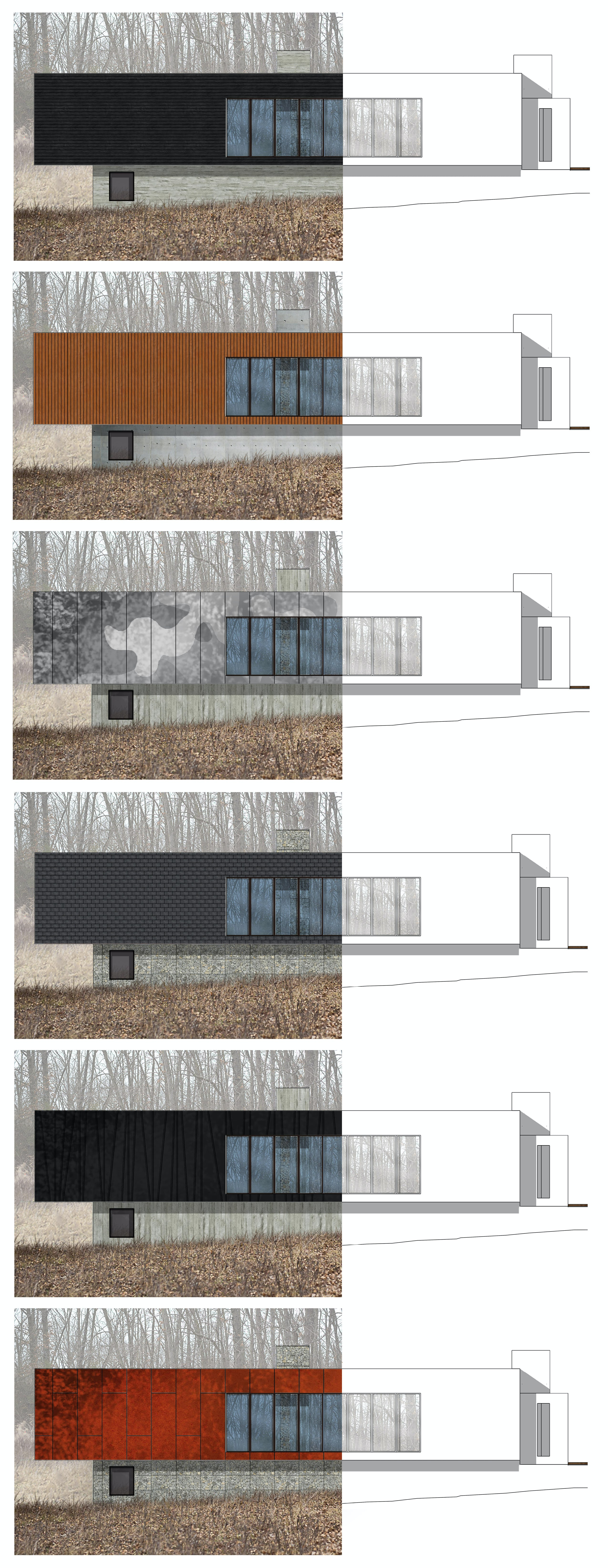 Combined elevations level architecture incorporated