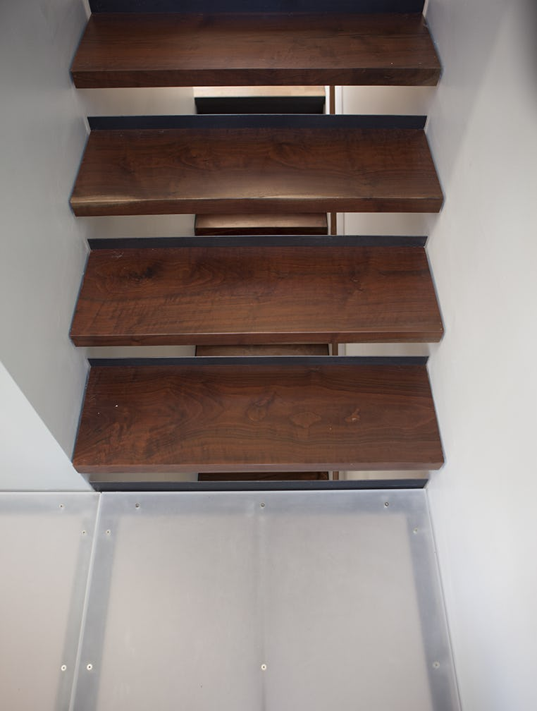 Builtform construction  steelhouse1 2 detail stairs wood modern