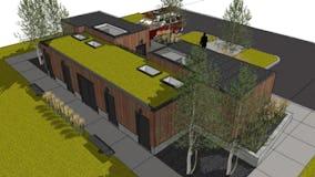 North michigan architecture campground