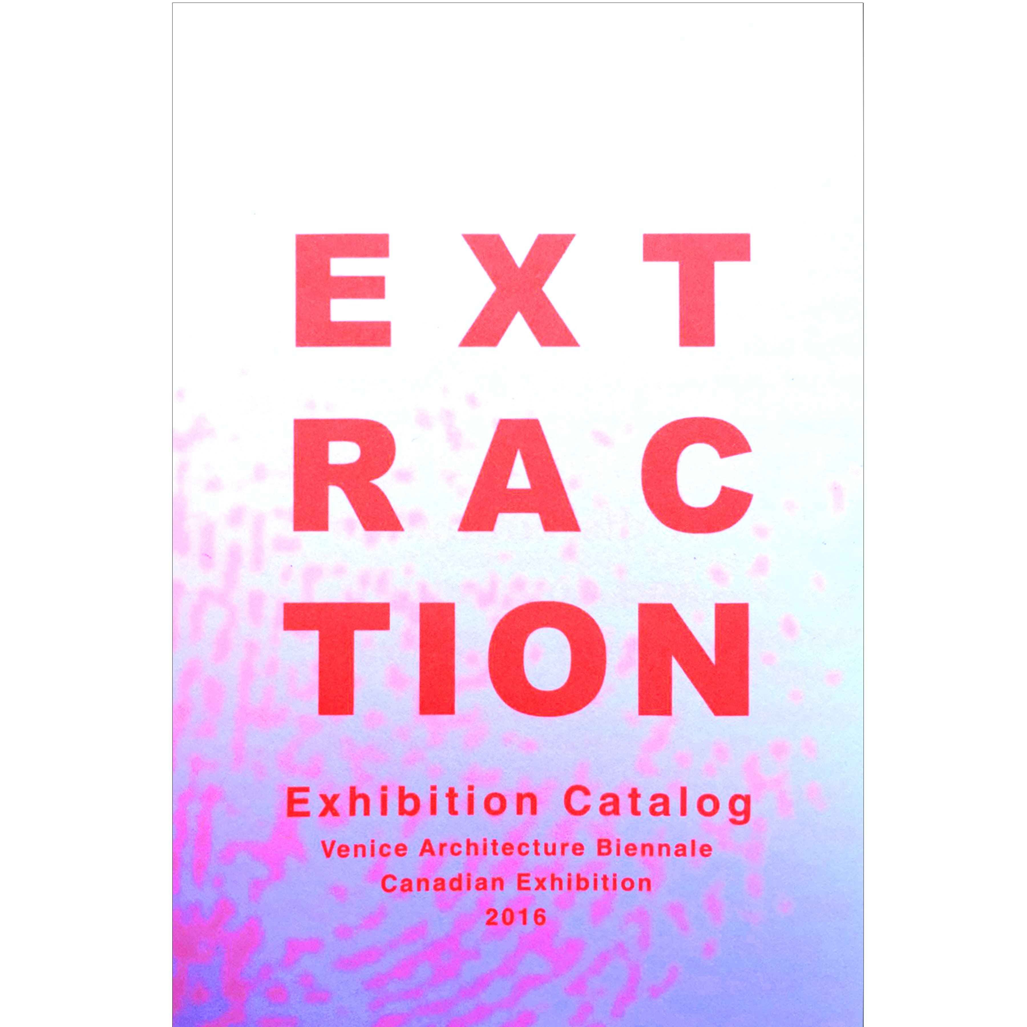 Rvtr extraction exhibition catalog