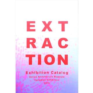 Rvtr extraction exhibition catalog