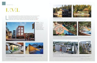 Licensed architect magazine fall 2019 spread