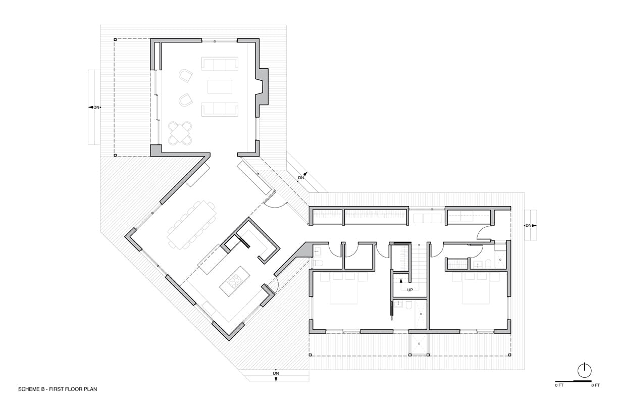 Option b first floor plan